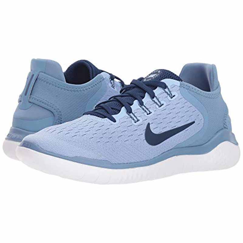 finest selection fa909 a65d8 Nike Free RN 2018 Aluminum / Blue Void 942837-402 (Women's)