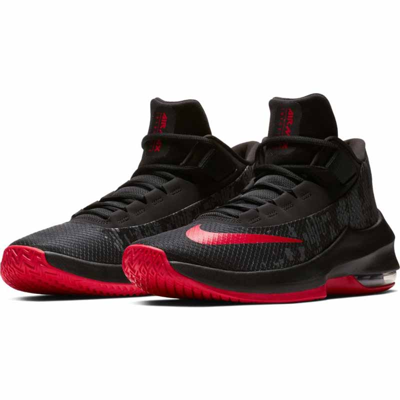 new concept 24ee7 a8db4 Nike Air Max Infuriate 2 Mid Black   Red AA7066-066 (Men s). Loading zoom