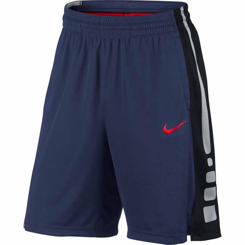 e3265921b99d Nike Elite Stripe Short Navy   Red 831390-413 (Men s)