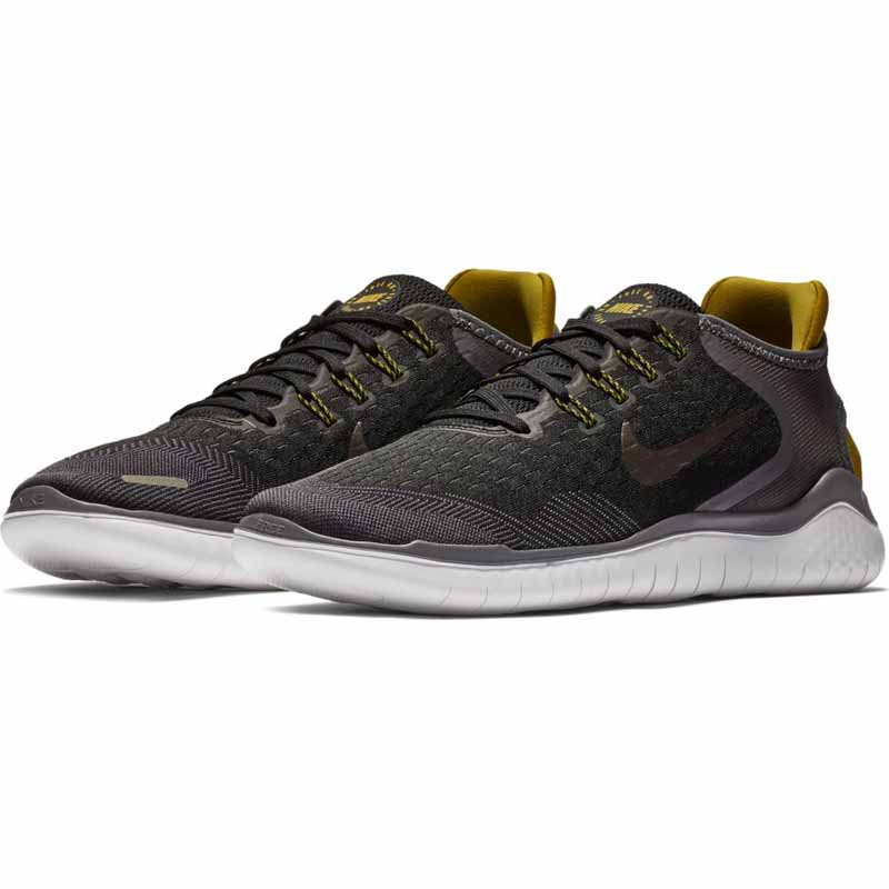 d691ceaa9a12f8 Nike Free RN 2018 Black   Peat Moss 942836-009 (Men s). Loading zoom