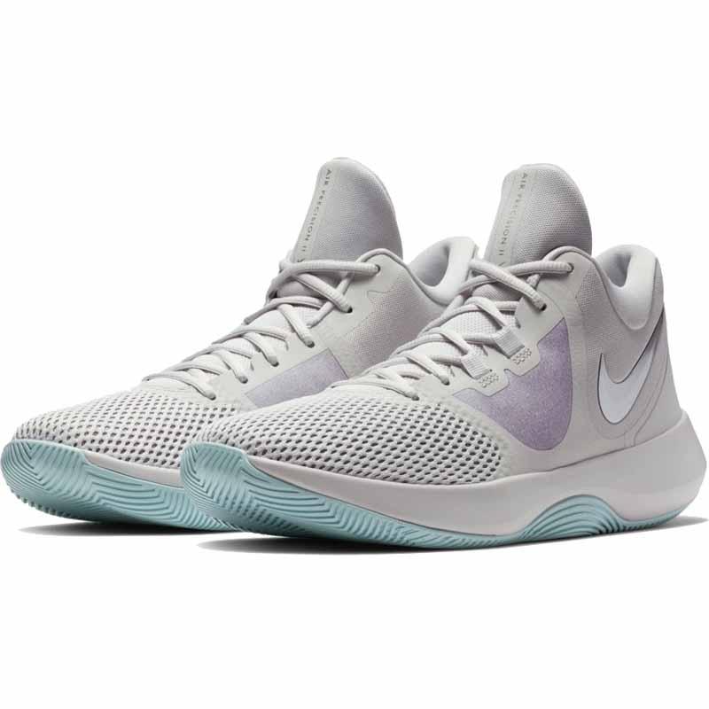 a2489a46c62757 Nike Air Precision II Grey   Chrome AA7069-005 (Men s)