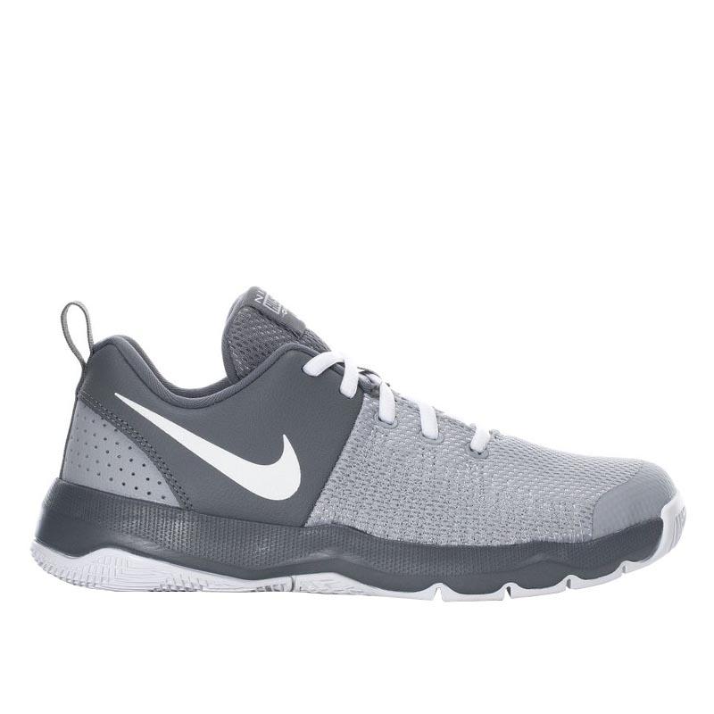 b3269abc36af5 Nike Team Hustle Quick Grey/ White 922680-005 (Youth)