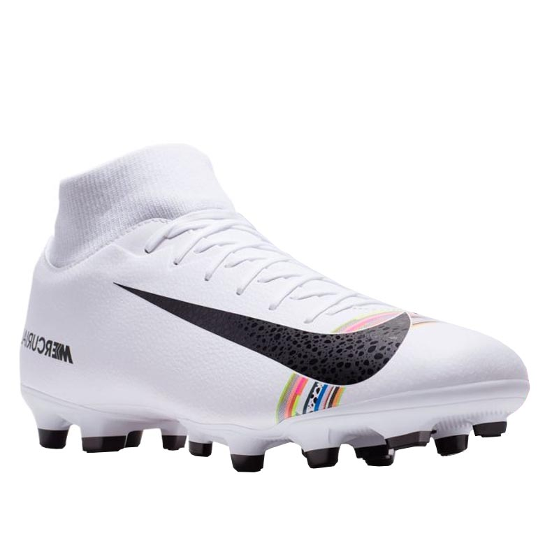 big sale eed72 53b09 Nike CR7 Superfly 6 Academy MG White/ Black/ Platinum AJ3541-109 (Men's)