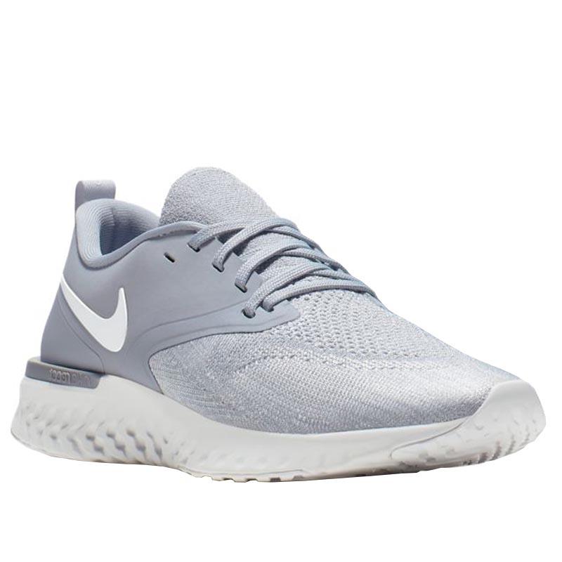 innovative design 6c40a 9444d Nike Odyssey React 2 Flyknit Wolf Grey/ White AH1016-002 (Women's)
