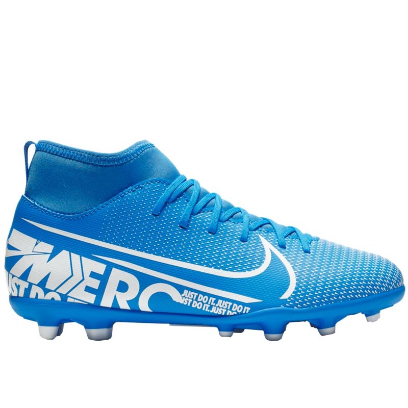 huge selection of ccefe 65e69 Nike JR Superfly 7 Club FG/MG Blue Hero/ White AT8150-414 (Youth)
