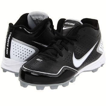 Nike Keystone 3/4 Black / Silver / White 469727-011 (Youth)