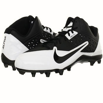 Nike Alpha Strike 3/4 TD Black / White 579370-010 (Men's)
