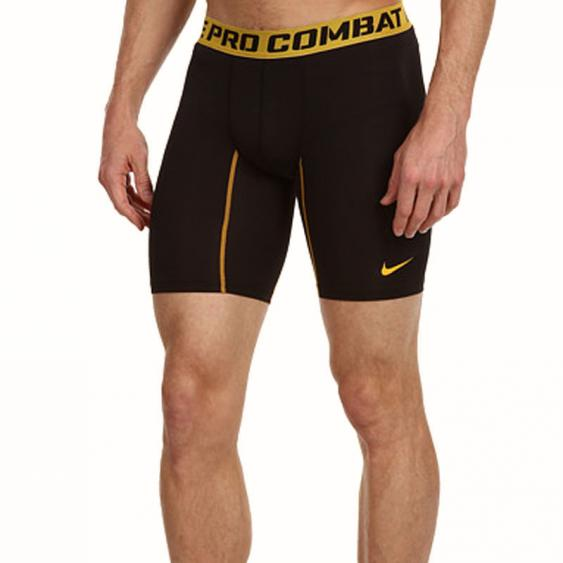 Nike Core Comp Short 2.0 6-in Short Black / Gold 519977-013 (Men's)