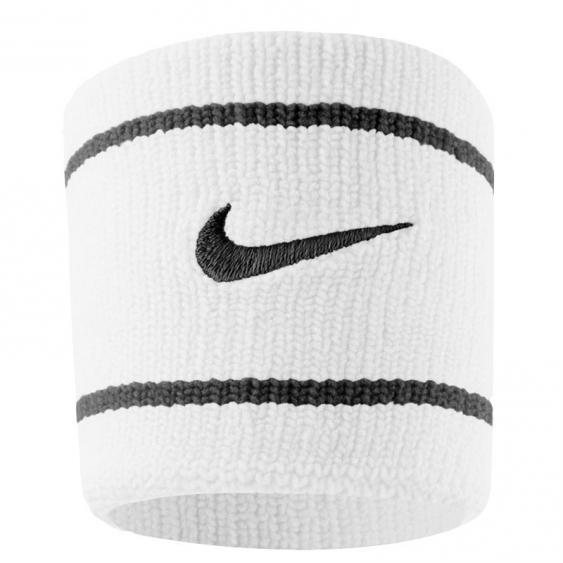 Nike Dri Fit Wristbands White/Black AC3421-101