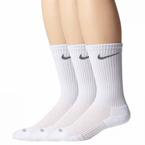Nike 3PK DF Cushion Crew White SX4827-101 (Adult)
