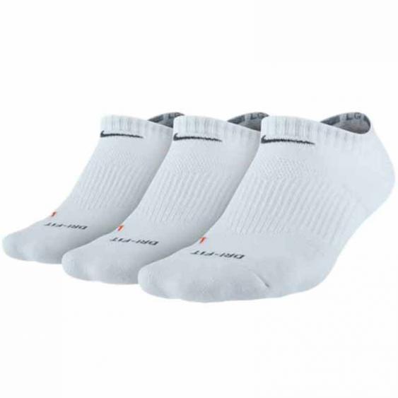 Nike 3PK DF Half Cushion No Show White SX4834-101 (Adult)