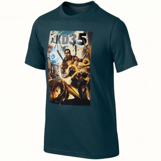 Nike KD Hero Tee Nightshade / Anthracite 611430-392 (Youth)