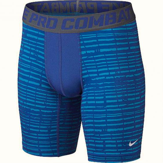 Nike Pro Combat Core Comp Shorts Royal / White 649373-480 (Youth)