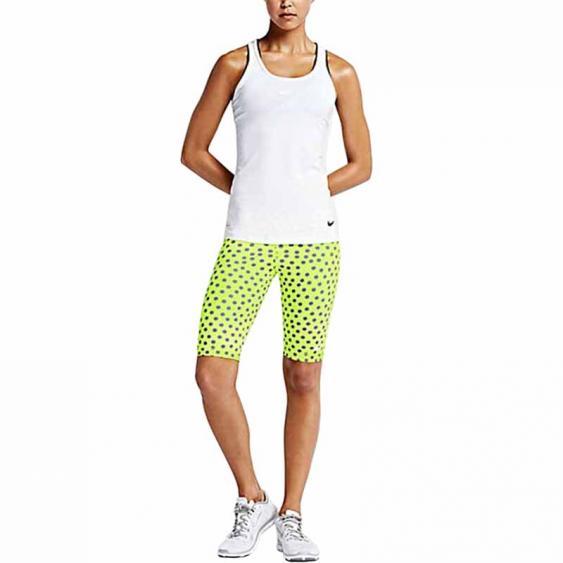 Nike Pro 11-in Dot Short Volt / Blue 643375-702 (Women's)