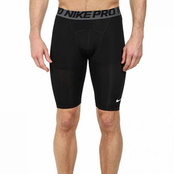 Nike Pro Cool Comp 9-in Shorts Black / Grey 703086-010 (Men's)