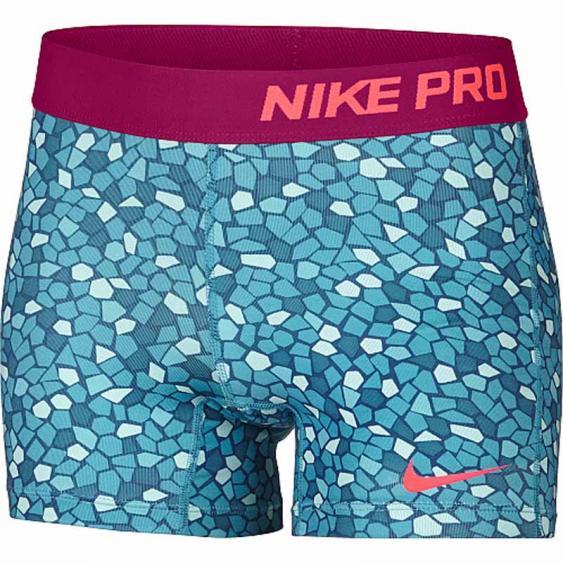 Nike Pro AOP 3 Inch Shorty Copa / Sport Fuchsia 719957-437 (Youth)