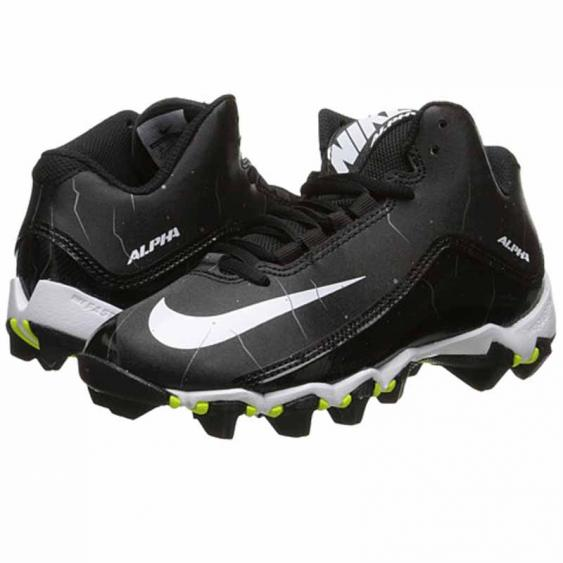 Nike Alpha Shark 2 3/4 BG Black / White 719953-002 (Youth)