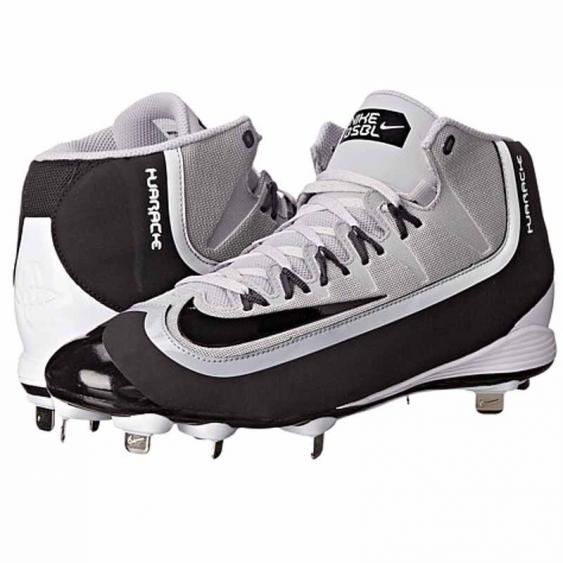 Nike Huarache 2KFilth Pro MD Black / Grey 807128-001 (Men's)