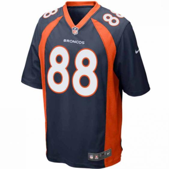Nike Denver Broncos Team Jersey Navy Thomas 479415-428 (Men's)
