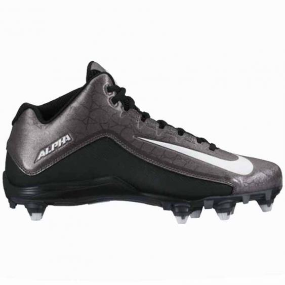 Nike Alpha Strike 2 Mid D Black / Dark Grey 725228-010 (Men's)