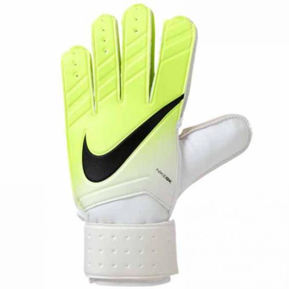 Nike GK Match Gloves Bright White / Volt / Black GS0330-100 (Adult)