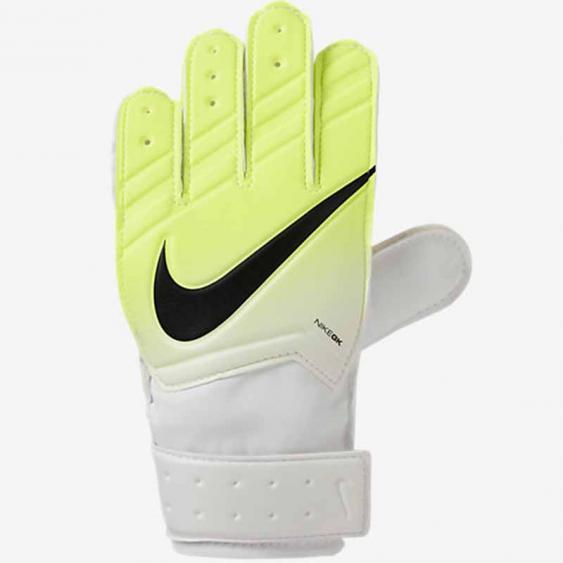 Nike GK JR Match Gloves White / Volt GS0331-100 (Youth)