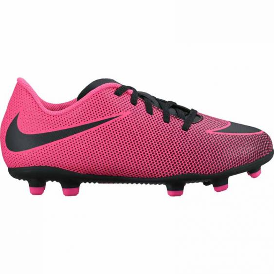 Nike JR Bravata II FG Pink Blast / Black 844442-600 (Youth)