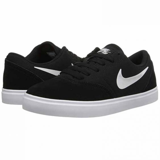 Nike SB Check Shoe Black / White 705266-001 (Youth)