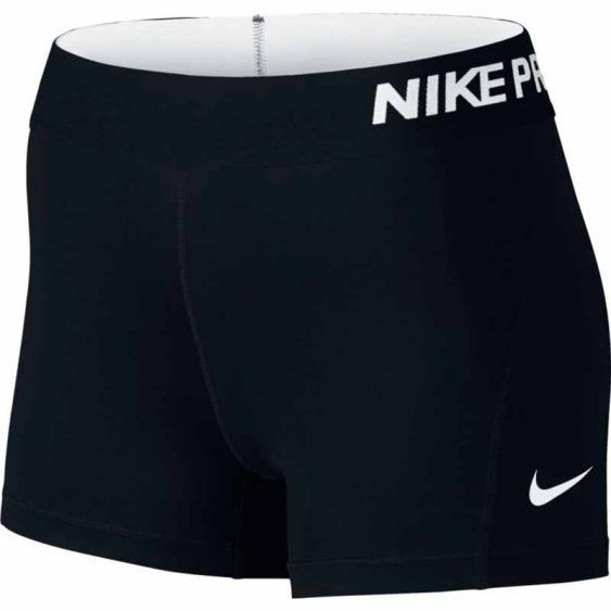 Nike Pro 3 Inch Shorty Black 725443-010 (Women's)