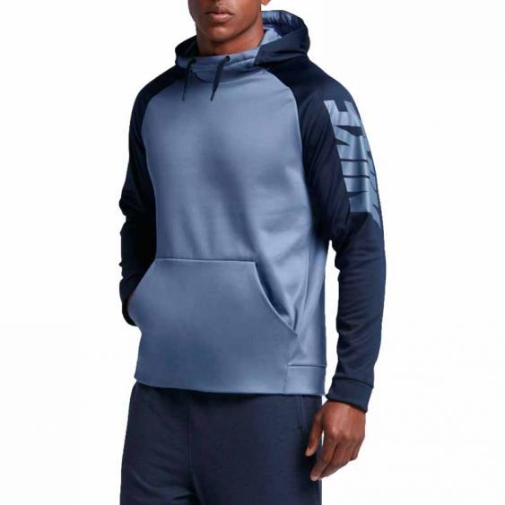 Nike Therma Block Hoodie Ocean Fog 800309-404 (Men's)