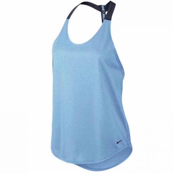 Nike Elastika Solid Tank Bluecap / Obsidian 727749-425 (Women's)