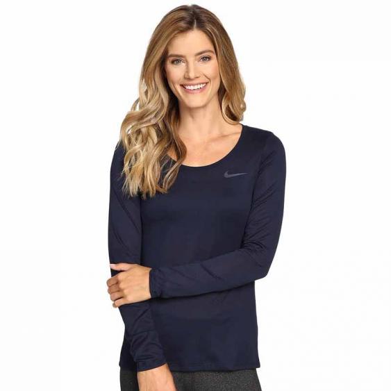 Nike Legend Scoop Tee Obsidian 811028-451 (Women's)