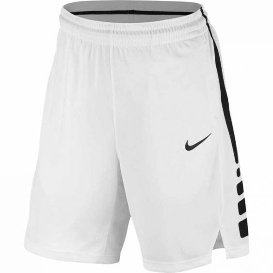 Nike Elite Stripe Short White / Black 831390-100 (Men's)