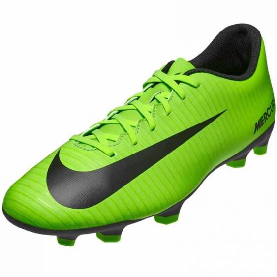Nike Mercurial Vortex III FG Green / Black / Lime 831969-303 (Men's)