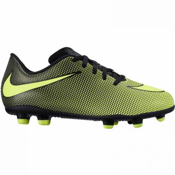 Nike JR Bravata II FG Black / Volt 844442-070 (Youth)