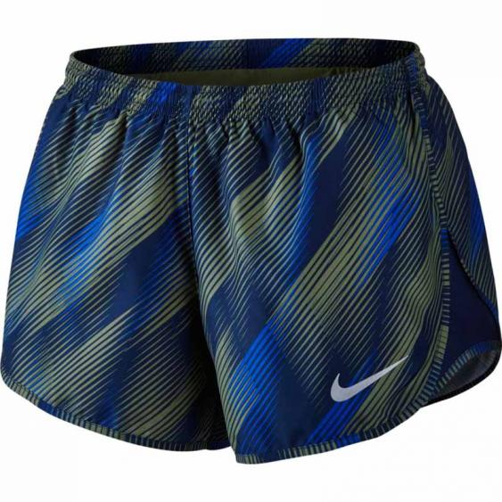 Nike Dry Modern Tempo Short  Binary Blue / Palm Green831183-387 (Women's)