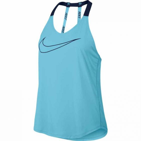 Nike Breathe Elastika Tank Vivid Sky / Binary Blue 833766-432 (Women's)