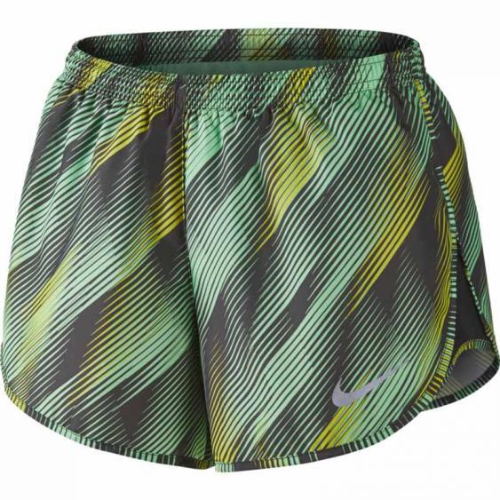 Nike Dry Modern Printed Tempo Short Mint / Fog 831183-343 (Women's)