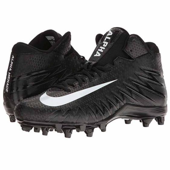 Nike Alpha Menace Varsity Mid Black / White 880137-011 (Men's)