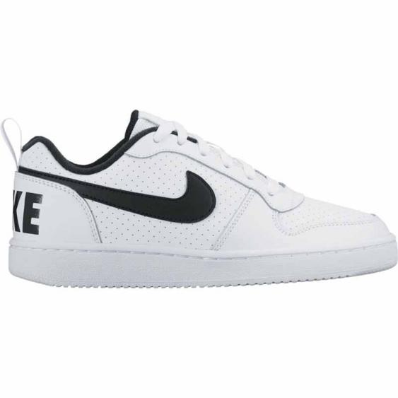 Nike Court Borough Low GS White / Black 839985-101 (Youth)