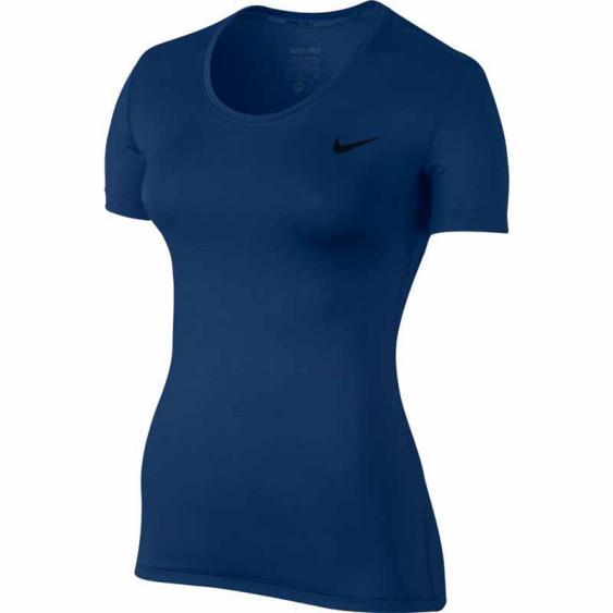 Nike Pro SS Tee Binary Blue 725745-4229 (Women's)