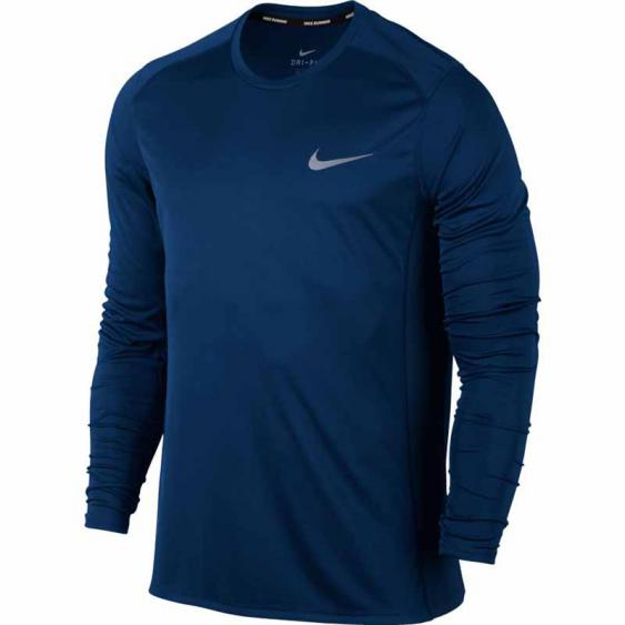 Nike Miler LS Tee Binary Blue 833593-429 (Men's)