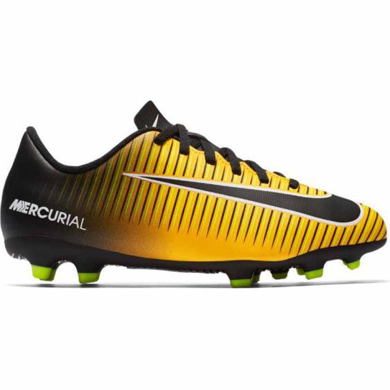 Nike Mercurial Vortex III FG Orange / Black 831952-801 (Youth)