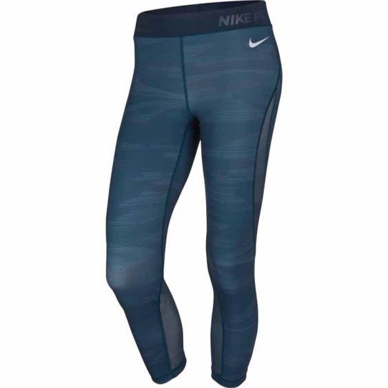 Nike Pro Hypercool Capri Space Blue / White 855311-425 (Women's)