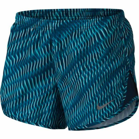 Nike Tempo Shorts Turbo Green / Space Blue 855544-311 (Women's)