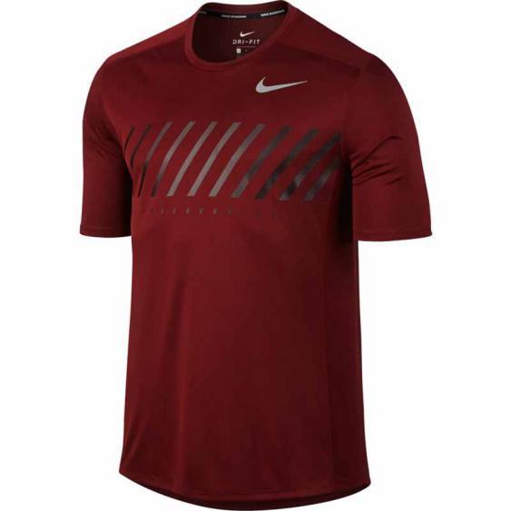 Nike Miler Tee Dark Team Red / Port 856880-619 (Men's)