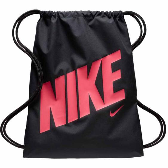 Nike Graphic Gymsack Black / Rush Pink BA5262-016