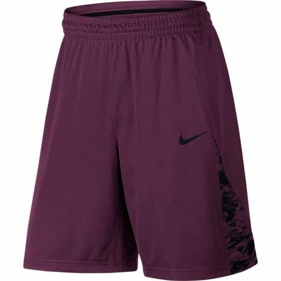 Nike New 3 Point Short Bordeaux / Black 868935-609 (Men's()