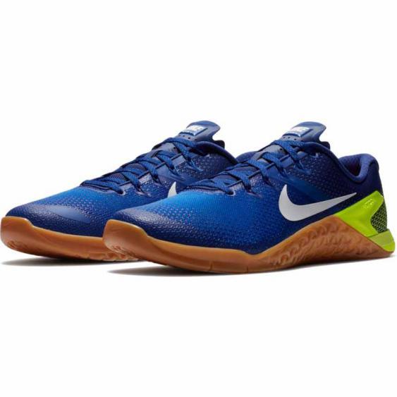 Nike Metcon 4 Volt / Racer Blue AH7453-701 (Men's)