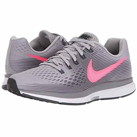 Nike Air Zoom Pegasus 34 Grey / Pink 880560-006 (Women's)
